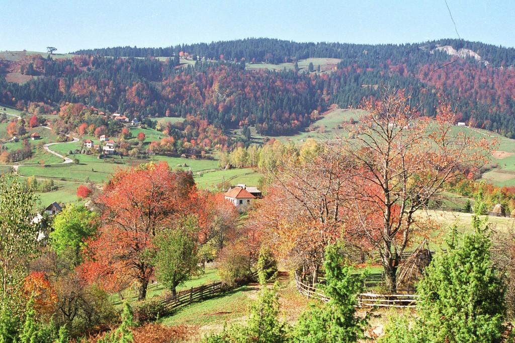 Pejzaž planinske Srbije.
