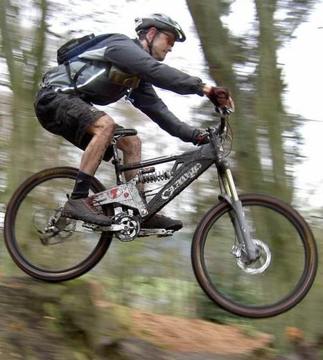 Mountain biking na Kamenoj Gori.