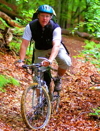Biciklizam planinskim stazama.