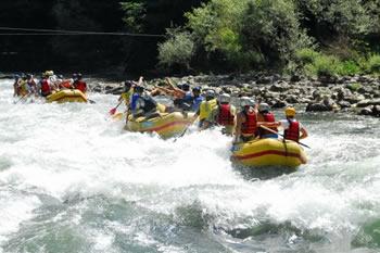 Rafting na Limu, u blizini Kamene Gore.
