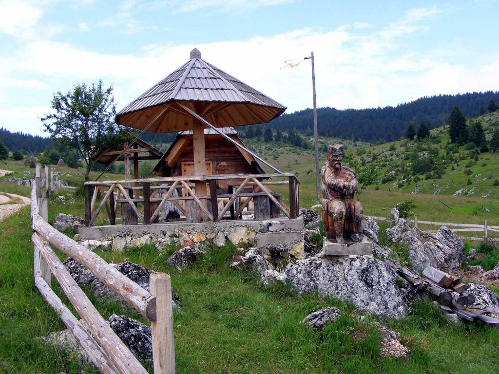 Kamena Gora, mesto etno turizma.