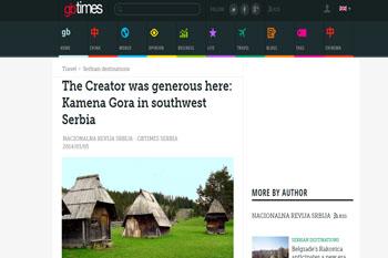 Kamena Gora - The creator was generous here