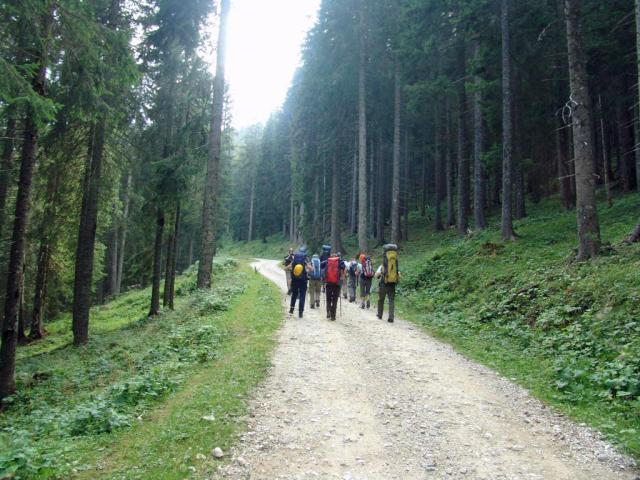 Penjanje i planinarenje na Kamenoj Gori.