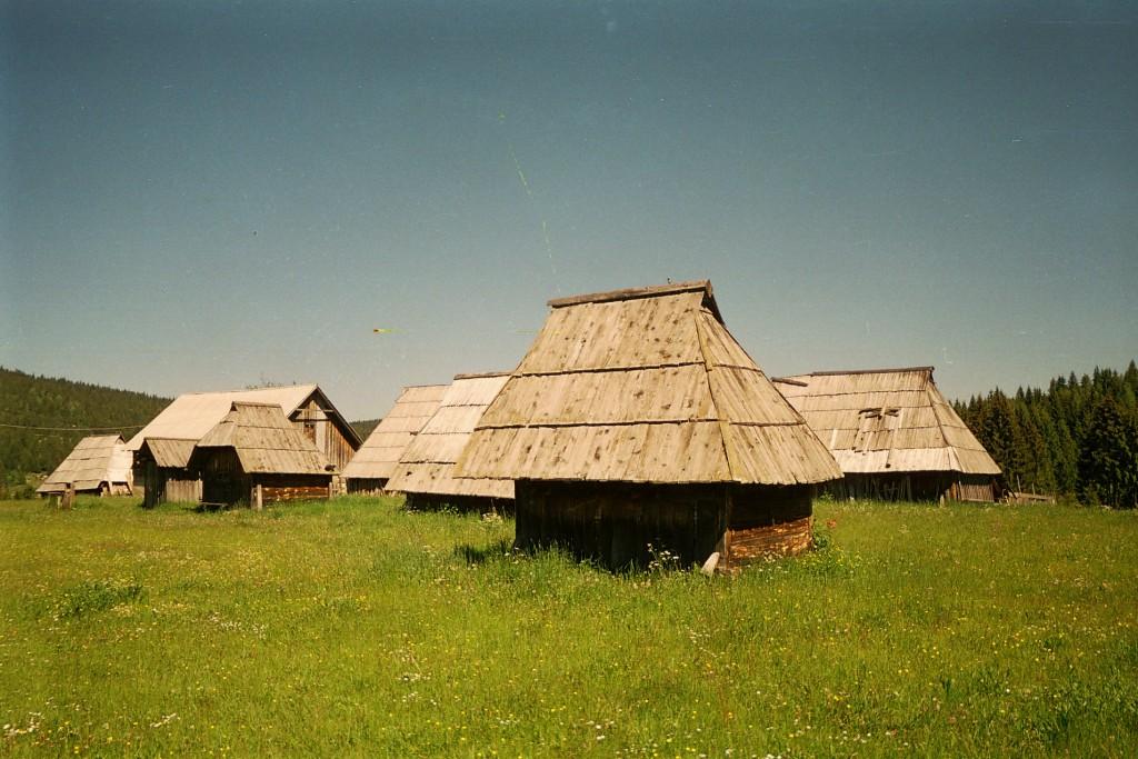 Etno selo na Kamenoj Gori.