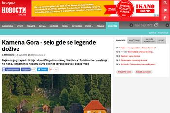 Kamena Gora - Večernje novosti
