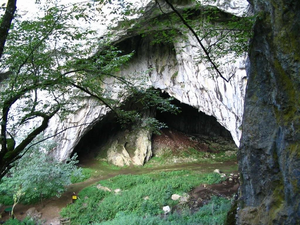 Pećina na Kamenoj Gori.
